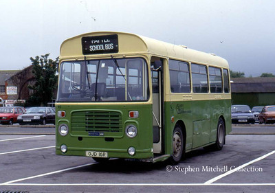 Southern National Bristol LHS/ECW 93 (OJD16R), originally London Transport BS16.