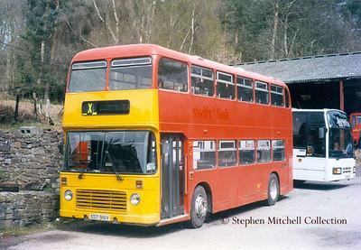 James Bevan of Lydney Bristol VRT/ECW EDT916V, originally Yorkshire Traction 916