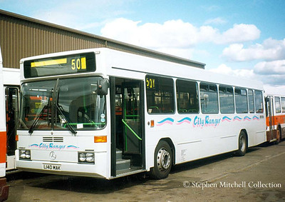 Your Bus L140MAK, a Mercedes Benz 0405 with Wright Urban Ranger bodywork, originally a Mercedes demonstator.