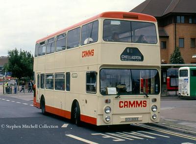 Camms ex Western SMT Leyland Fleetline/NCME 54 (ECS886V)