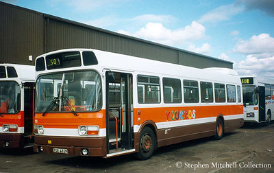 Your Bus 110 (TOE482N), an ex West Midlands PTE Leyland National