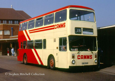 And another ex SYPTE vehicle which saw use with Camms was Leyland Atlantean/Roe CWG760V (SYPTE 1760)