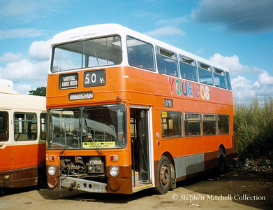 Your Bus Park Royal Bodied Leyland Atlantean DD46 (UNA826S), originally Greater Mancehster PTE 7826.