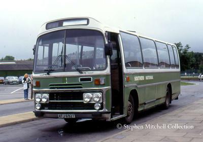 Southern National Plaxton bodied Bristol LH6L 3131 (AFJ692T)