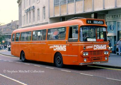 Camms Seddon Pennine 7/Alexander NSJ11R in Nottingham