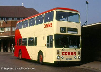And yet another was Leyland Atlantean/Roe DWJ763V, originally South Yorkshire 1737 and which at one time carried Sheffield Transport livery.
