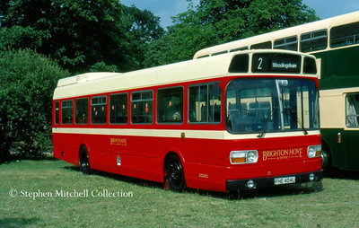 Brighton & Hove 146 (FHE404L) in traditional livery, another ex Yorkshire Traction vehicle.