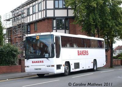 Bakers N521TRU, Warwick Road, Stratford Upon Avon, 1st July 2011
