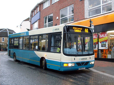 Also on Bridge Street was Arriva 3923 (GK51SYY), a Wright bodied DAF SB120, 31st December