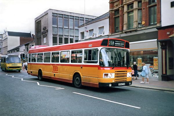 3154 A544PCW, Middlesborough 23/8/1991