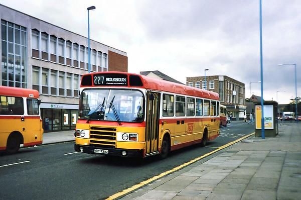3739 RDC739X, Hartlepool 23/8/1991