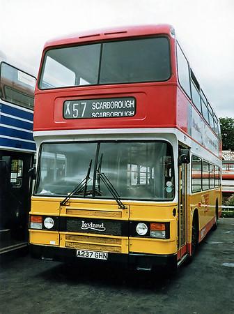 237 A237GHN, Scarborough 16/8/1991