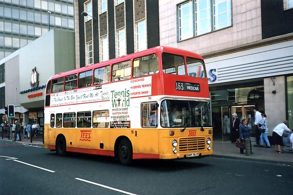 761 HUP761T, Middlesborough 23/8/1991