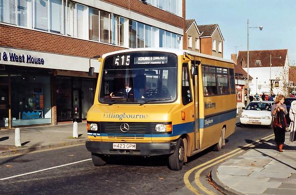 Tillingbourne H423GPM, Farnham 12/11/1993
