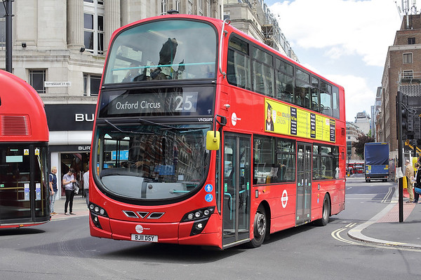 VN36119 BJ11DSY, Tottenham Court Road 7/6/2017