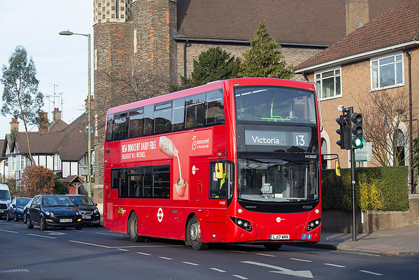 MV38207 LJ17WRK, Golders Green 11/1/2019