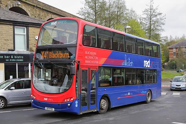 3607 X7VTD, Accrington 20/4/2017