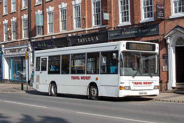D27 GX04ASU, Newark-on-Trent 26/3/2019