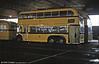 Bournemouth 1950 BUT 9641T/Weymann H31/25D 212 (KLJ 346) at Mallard Road Depot in June 1984.