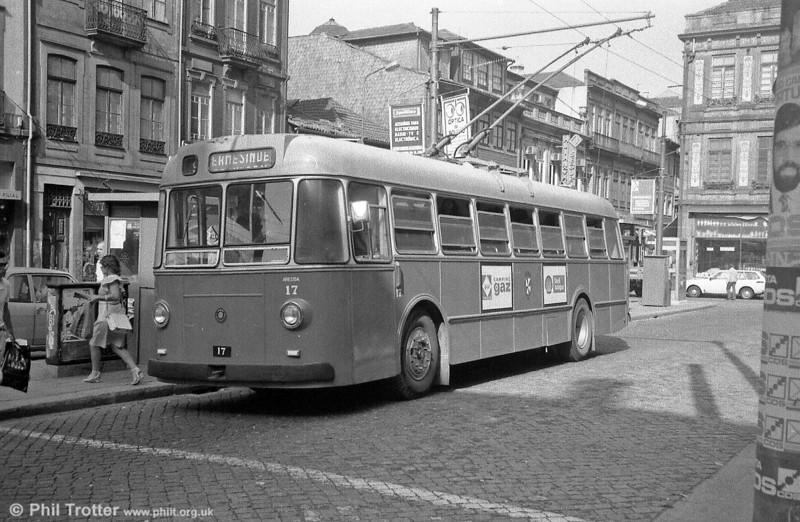 BUT no. 17 was photographed in July 1982.