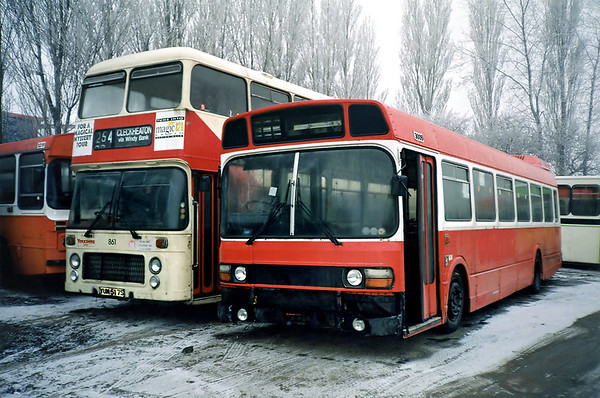 3009 SRG109R, Sherburn-in-Elmet 29/1/1992