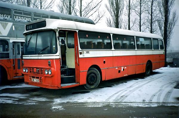 1102 HWY726N, Sherburn-in-Elmet 29/1/1992