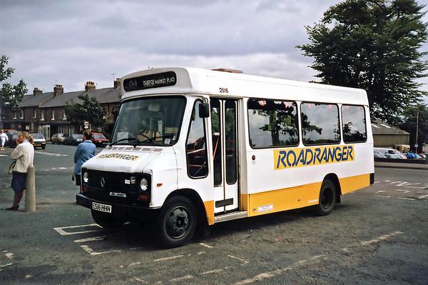 2516 E516HHN, Ripon 23/8/1991