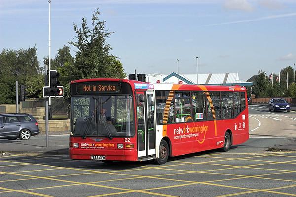 22 Y622GFM, Warrington 9/10/2012