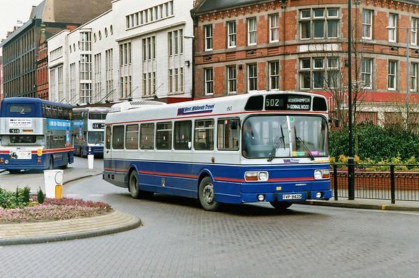 1843 TVP843S, Wolverhampton 7/3/1992
