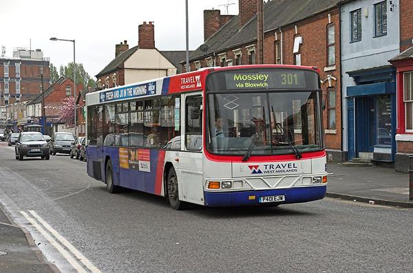1401 P401EJW, Bloxwich 24/4/2007