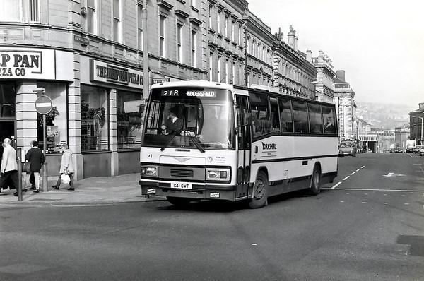 41 C41CWT, Huddersfield 25/2/1992