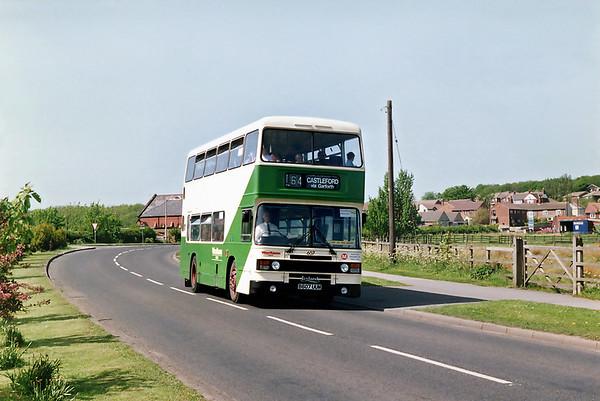 607 B607UUM, Great Preston 16/5/1992