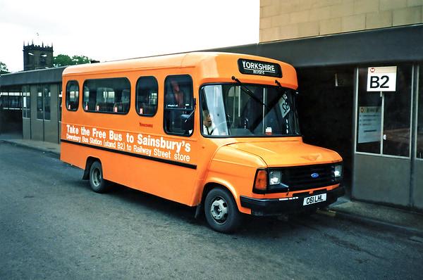 481 C61LHL, Dewsbury 25/6/1991