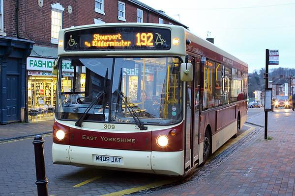 309 W409JAT, Stourport-on-Severn 10/1/2014
