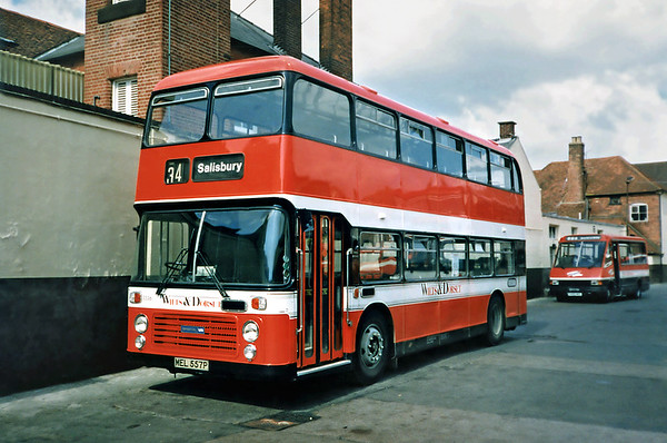 3336 MEL557P, Salisbury 6/7/1991