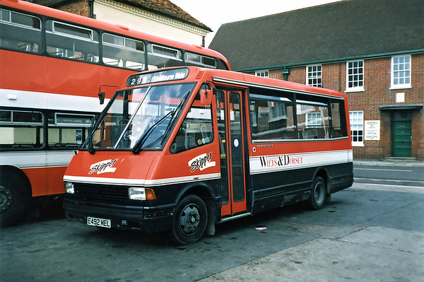 2341 E492MEL, Salisbury 6/7/1991