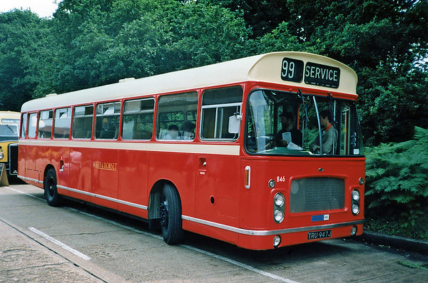 846 TRU947J, Bournemouth 7/7/1991