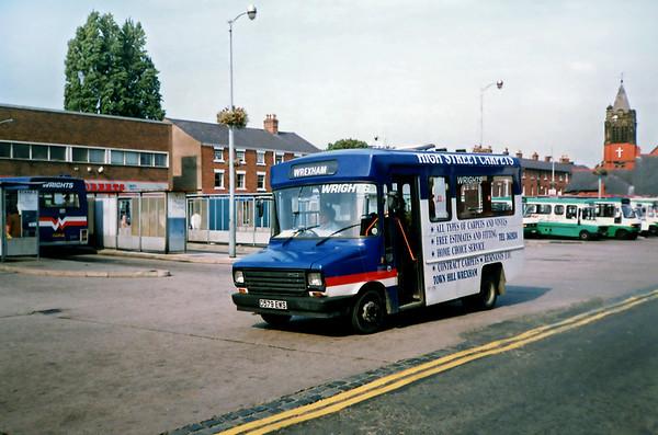 D579EWS, Wrexham 9/9/1991