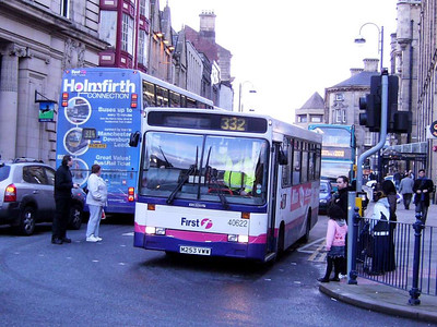 First 40622 (M253VWW), an Alexander bodied Dennis Dart, Westgate, 25th November 2006