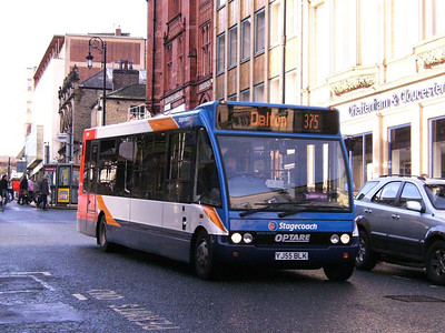Stagecoach Optare Solo 47299 (YJ55BLK) descending High Street, 25th November 2006