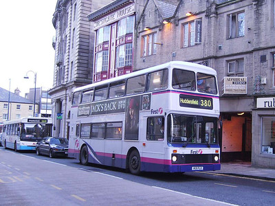 First NCME bodied Leyland Olympian 30734 (H131FLX), Westgate, 25th November 2006