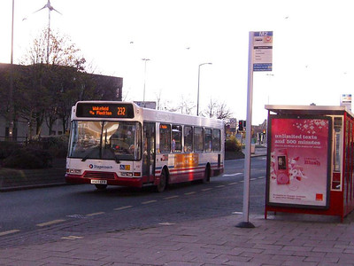 Stagecoach Volvo B6BLE 31957 (V507EFR) is another still in Tracky livery
