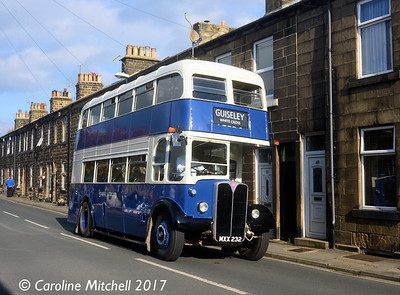 MXX232, North Parade, Otley, 15th October 2017
