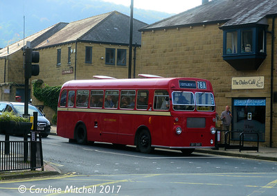 West Yorkshire SMA5 (811BWR), Crossgate, Otley, 15th October 2017