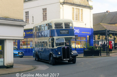MXX232, Kirkgate, Otley, 15th October 2017
