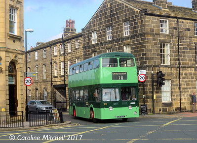 Leeds City Transport 331 (CUB331C), Otley, 15th October 2017