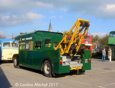 LWR424, North Parade Car Park, Otley, 15th October 2017