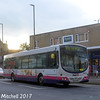 First 66337 (MV02VCM), Church Lane, Pudsey, 14th October 2017