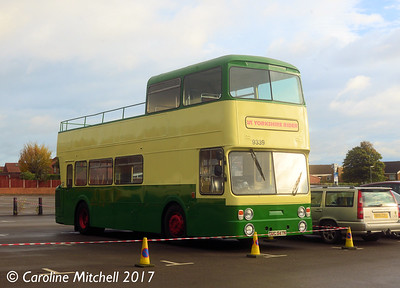 Yorkshire Rider 9339 (GUG547N), Pudsey Civic Hall, 14th October 2017