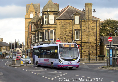First 63286 (SL15ZFS), Church Lane, Pudsey, 14th October 2017
